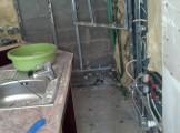 veekahjustus kipsplaat seintel köögis