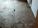 veekahju OSB põrandaplaadil